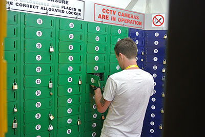 Event lockers and Mobile Cloakrooms